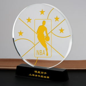Custom Novel Crystal Glass Award Trophy for Business Souvenir Gift pictures & photos