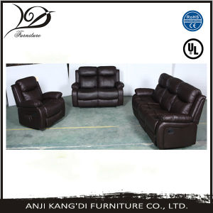 Kd-RS7143 Massage Recliner/Massage 1+2+3 Recliner/Bonded Leather Recliner Sofa Set & Single Recliner & Loveseat & Sofa Set