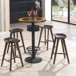 (SP-CT708) China Manufacturer Retro Wooden Bistro Table for Sale pictures & photos
