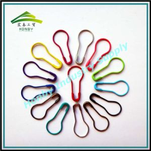 Hot Selling 22mm Colorful Metal Pear Shaped Safety Pin