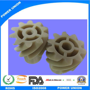 Peek Plastic Cylindrical Helical Spiral Gear for Industry Machinery pictures & photos
