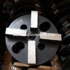 CD-49 Metal Concrete Floor Diamond Grinding Wheel with 4 Segment