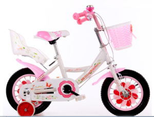 Hot Wheels Kids Bike, Girls Bike with Basket, Girls Bicycle for 3 Years Old