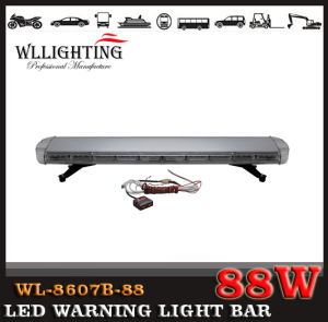 Linear Lens 48 Inch LED Police Project Engineering Ambulance Fire Light Bar