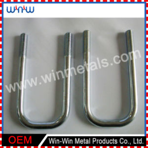 Machine Metric Custom Fastener Galvanized Stainless Steel Bent U Bolt pictures & photos