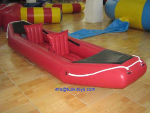 PVC Red Inflatable Kayak for Two People (TK-034)