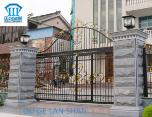 High Quality Crafted Wrought Iron Gate/Door 052
