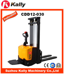 Electric Pallet Stacker for Warehouse (CDD12-030)