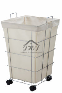 cdf93e5ed1 China Canvas Rolling Laundry Hamper, Laundry Storage, Laundry Sorter - China  Laundry Hamper, Laundry Basket