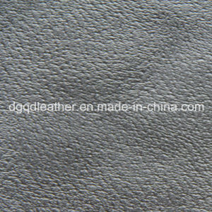Pig Grain of Shoes PU Leather (QDL-52097) pictures & photos