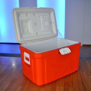 50L Ice Cooler Box for Outdoor Fishing with Handle (HWC-W50)