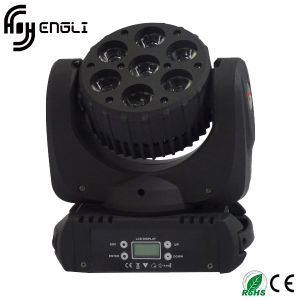 7PCS*12W 4in1 Moving Head LED Stage Lamp (HL-010BM)