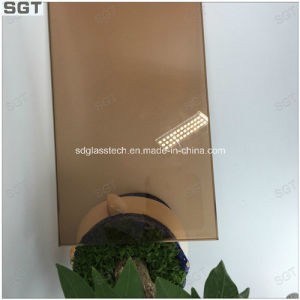 Laminated Glass 4mm Sample Tea Color and Green Color pictures & photos