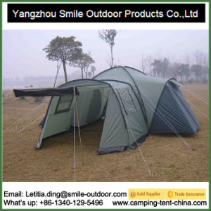 6 Person 3 Room Outdoor Family Camping Tent pictures & photos