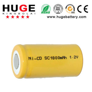 1.2V Sc 1800mAh Ni-CD Battery pictures & photos