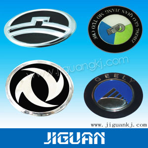 Custom Laser Carving Serial Number Printing and Silk Screen Printing Plastic Sticker pictures & photos