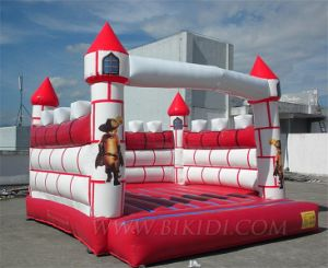 2015 Hot Cheap Inflatable Bouncy Jumping Castle, Air Bouncer Inflatable Trampoline, Air Balloons pictures & photos
