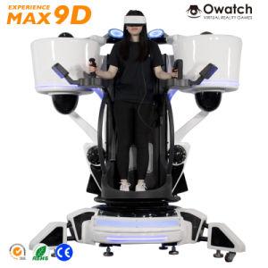Interactive Play 360 Degree Cinema System Game Machine 9d Vr Flight  Simulator