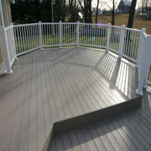China Outdoor Wpc Pvc Decking