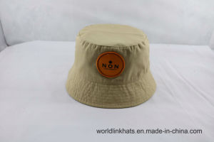 Manufacturer Custom Plain Bucket Hat Wholesale Woven Patch Fisherman Cap 703be7f9c35