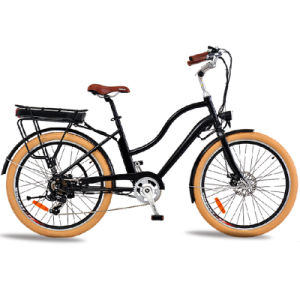 "China 26"" Retro 36V 48V 250W 500W Ebike Car Electric Bicycle City Vehicle E Bikes E-Bike Electric Bike"