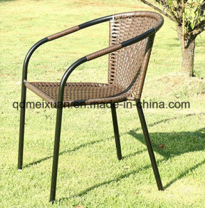 The New Luxury Woven Cane Cane Courtyard Chair Cafe Outdoor Leisure Chair Factory Direct Sale (M-X3581) pictures & photos