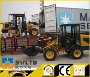 0.8 Ton Front End Loader CE Approved Mini Wheel Loader pictures & photos
