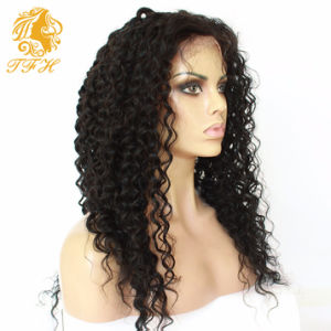 Cheap 180% Density Long Kinky Curly Full