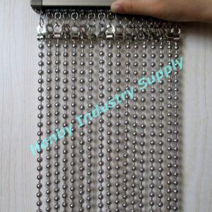 China Custom Made 8mm Metal Ball Chain Hanging Room Divider China