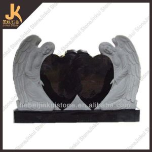 Granite Angel Carving Headstone (JK-V002)