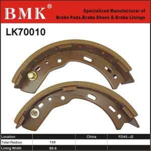 Environment-Friendly Forklift Brake Shoes (LK70010) pictures & photos