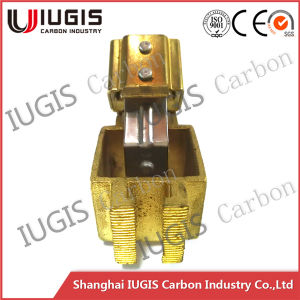 Copper Carbon Brush Holder for Fixed Carbon Brush Use in Motor pictures & photos