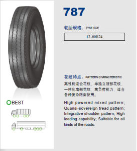 Annaite Brand New Radial Truck Tyre (787 12.00R24) pictures & photos