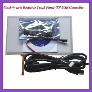 7 Inch 4wire USB Controller Card and Resistive Touch Screen pictures & photos