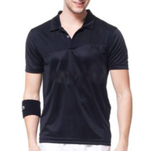 Fashion Perfect Cotton/Polyster Plain Golf Polo Shirt (P023) pictures & photos