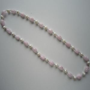 Daking Freshwater Pearl Hand Knotted Necklace pictures & photos