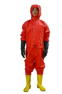 Anti Chemical Protective Suit Clothing for Fire Fighting pictures & photos