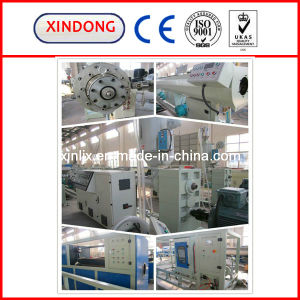 CE Cetificate HDPE Pipe Production Line pictures & photos