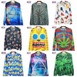 Wholesale High Quality Custom Over Printed Hoody pictures & photos