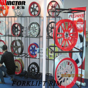 Forklift Tyre Rim, Split Rim, Steel Wheel Rim (4.00E-9 4.33R-9) pictures & photos
