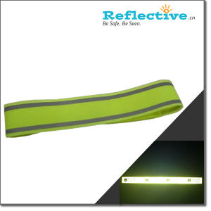 Reflective Magic Tape Armband (Lime Yellow) pictures & photos