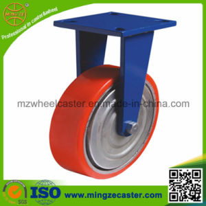 Extra Heavy Duty Rigid Industrial Caster with PU Wheel pictures & photos