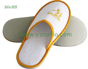Close Toe Hotel Terry Towel Slipper