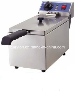 Electric Fryer 8 Liters for Frying Food (GRT-E081B) pictures & photos