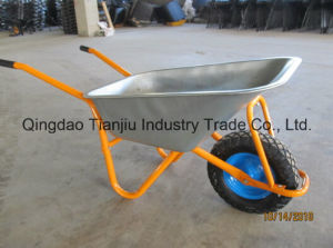 85L Galvanized Steel Garden Wheelbarrow (WB5009) pictures & photos