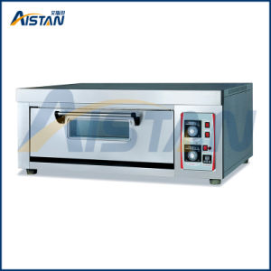 Bsd-20A Stainless Steel 1 Deck-2 Stones Electric Pizza Oven for Kitchen Equipment pictures & photos