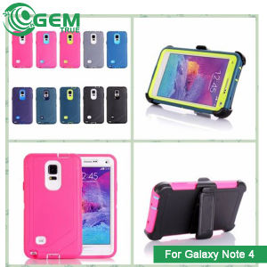cheap for discount 68014 6d1ad Defender Shockproof Dustproof Case Holster Cover for Samsung Galaxy Note 4