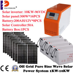 Solar Power System DC to AC Pure Sine Wave Inverter 10000W