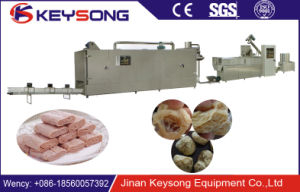Vegetable Protein Meat Analog Soya Nuggets Machine Soya Protein Meat Processing Line pictures & photos