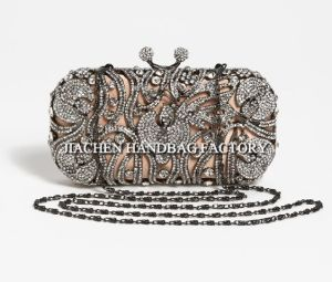 Women Clutch Handbags with Crystal Decoration (C2003)